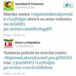locazo cómo informa @elcomercio sobre marcha #LeyPulpin vs. cómo informa @larepublica_pe http://t.co/XsMM2O7UKU