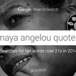 """Try to be a rainbow in someone's cloud."" - Maya Angelou #YearInSearch http://t.co/k4x0oTchrO"