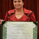 Diplomada Presidenta da República Federativa do Brasil 2015-2018! Sou linda, sou diva, sou Presidenta. SOU DILMA!!! http://t.co/WZKVcBDljy