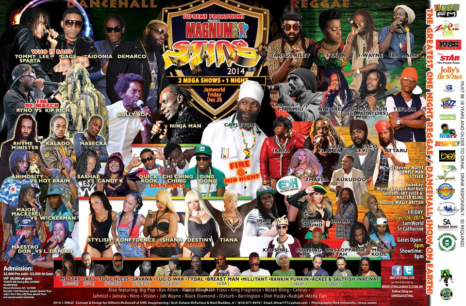 """@L3Magazine: We are looking forward to hearing @Excolevi @IbaMaHr @ItsJahmiel take @ReggaeSting #2014 #Reggae >>> http://t.co/tXx2HQ4fPC"""