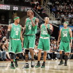 All four All-Stars from Bostons big four era are now gone. First Allen, then KG and Pierce, and now Rondo. http://t.co/U8pxh7pXnU