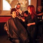 Le @FDVoyageur lance le 33e concours du barbu ce soir au @GarageCafe. On rase les premiers participants! #rcmb http://t.co/fakLWVKFAk