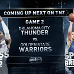 Who do you have? RT @nbaontnt: Thunder Buddies or Splash Brothers? Huge matchup next on TNT!