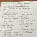 Here is the playlist from our #nzsecretasanta mix tap cc @Rosspnz ^JD http://t.co/Q4CD0RcZSB
