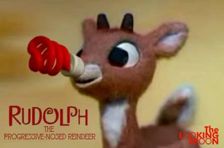 LOL.  Love it! RT @playinglesshurt: #Rudolph being environmentally conscientious! :) http://t.co/WMkaqLb041