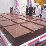 World's Largest Bar of Chocolate! http://t.co/YXlXnURoDk