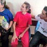 """Su""""delito"""" ayudar a estudiantes q luchan por nuestro país. 35 Kgs,enferma, presa y nos necesita #MariaElenaUzcategui http://t.co/jV2yxga9TR"""