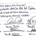 Estudiantes detenidos en el Sebin emiten un manifiesto dirigido a Nicolás Maduro http://t.co/2t9jRHlTNE http://t.co/VBTfjkowvv