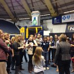 Celebrating the 40th Anniversary of Womens Basketball at NAU with @Sue_Darling #NAUStrong http://t.co/rNqnIyQF1H
