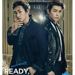 Super Juniors Donghae and Eunhyuk channel James Dean for THE STAR http://t.co/syGmiJO7O0 http://t.co/Qd0Ss77WHG
