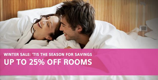 WINTER SALE: Book a room now and get up to 25% off rooms!  http://t.co/G3X1oxDF0m http://t.co/4JPkoW6M1L