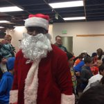 Its DeMarcus Claus! Broncos DE DeMarcus Ware hands out bikes for Christmas in Arvada as part of his event #9news http://t.co/ql927ap7E1