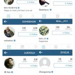 Tao, Baekhyun, Sehun, Chanyeol, Luhan and Yixing are now verified on Instagram! http://t.co/6E2GgR09SK