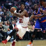No Derrick Rose, no problem! Jimmy Butler drops career-high 35 points to lead Bulls over Knicks, 103-97. http://t.co/8DHW76q52g