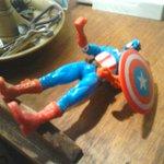 Ganó Mariela Bogado y se desmayó el Capitán América!!!! http://t.co/czG0SwsQi3