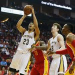 Have a night, Anthony Davis. Davis goes off for 30 points & 14 rebounds to lead Pelicans over red hot Rockets, 99-90. http://t.co/lX8nl8uyxG
