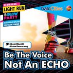 Theme #SMGLightRun Be The Voice NOT an Echo @LightRunID http://t.co/paSlfPNcql