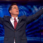Up late on a school night to watch! RT @thedailybeast: Farewell, Colbert Report. http://t.co/uRqkZwZwyy http://t.co/b8DLPoeqMG