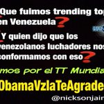 #AbajoCadenasYA Activo tanto en las calles como en las redes sociales.. #ObamaVzlaTeAgradece @omarbula @DolarToday http://t.co/r3x48GZOJb