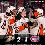 Adieu to you, Montreal! @Matt_Beleskey nets GWG; #NHLDucks grab two points at Bell Centre: http://t.co/QvmWYI3zry http://t.co/7QlCSNPUFe