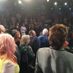 From #Colbert Farewell - it was the 100 people you meet in TV Heaven (@CyndiLauper Doris Goodwin, Barry Manilow) http://t.co/CYrd5dRxYN