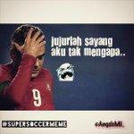 """Jujurlah sayang aku tak mengapa"" #SportRace2014 #SuperSoccerMeme @bolanewscom @my_supersoccer http://t.co/VDdOipVXEQ"