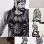 """@vamcchow: @RanaDaggubati After 11 hours of hard work finally I finished Ur portrait Rana hope u like it"