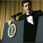 REMINDER: Stephen Colbert once did this to George W. Bush: http://t.co/kTLpFsoNxQ http://t.co/w7wJxQVsbX