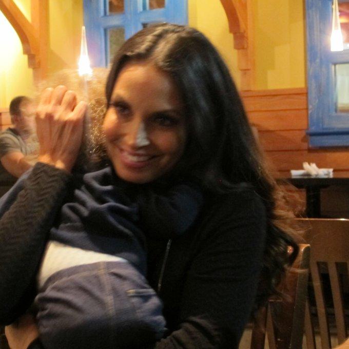 Trish Stratus @trishstratuscom: Best birthday hug ever http://t.co/dxGc5VgG8i