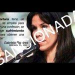 Gabriela Ramirez pasara a la historia como la #DefensoraDeLasTorturas #ObamaVzlaTeAgradece http://t.co/dyK9XDAtLg