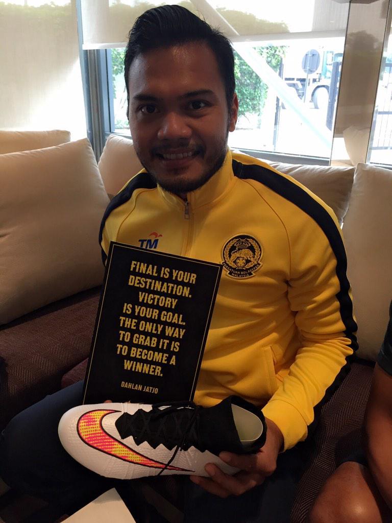 Sokongan mu Malaysia yg membakar semangat kami utk menjadi juara..auuummm!!! http://t.co/KZwMIwp383