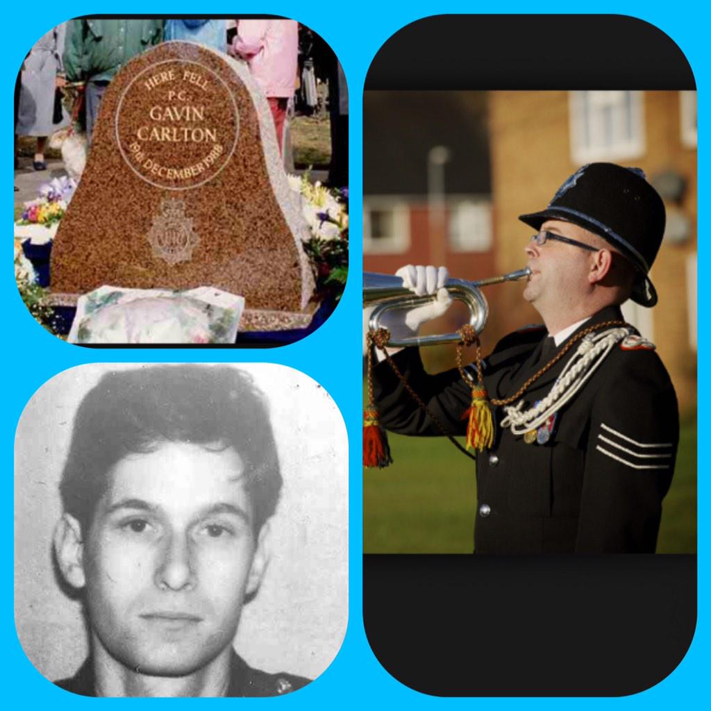 26 yrs ago Pc Gavin Carlton made the ultimate sacrifice protecting the public of #Coventry today we will remember him http://t.co/JrQ41DjTk8