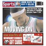 Boston Herald sports page, Dec. 19, 2014: Rajon Rondo Green no more http://t.co/3GpC2eG6RB http://t.co/tEUFl0xKdj