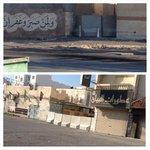 #Bahrain قوات النظام تواصل وضع الحواجز الإسمنتية على المداخل الفرعية و أمام منازل الأهالي في قرية #دمستان http://t.co/lmUgCLtMCq