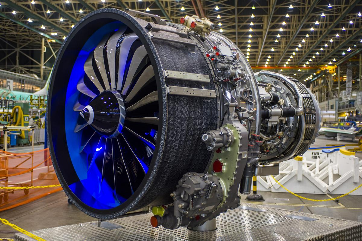 A full-scale model #LEAP-1B exclusive powerplant for @BoeingAirplanes #737 MAX at the 737 factory. The real one soon! http://t.co/0erKI1Eb6C