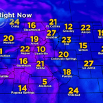 Off to a cool start this morning, lots of teens & 20s! Wind chill has #Denver feeling like 15! Good morning! #cowx http://t.co/NPnwrjIab3