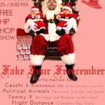 Free show tonight! @ceschi @pacthiphop Tommy V @DJHalo Mister @DJ_NEB @cafenine http://t.co/VeXg5SZry5