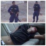 #نحن_من_بلد لا أمان فيه للمواطن المخلص الأصيل ممن يسمون برجال الأمن !! #هنا_البحرين http://t.co/28PBlx9AfX