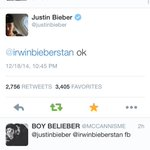 goodnight im so thankful for this i love u so much @justinbieber akansusnsisnaisnao omg http://t.co/n2pnEUkMLm