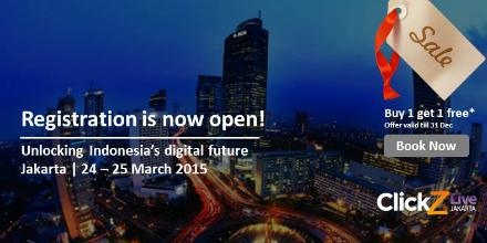 Join us at the Ultimate Digital Marketing Event in Indonesia next year #CZLJKT 24-25 Mar 2015! http://t.co/YG4hhOyfcJ http://t.co/nfdLMP0pAJ