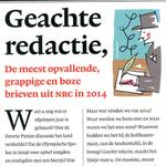 """Vandaag verloten we """"Geachte redactie"""" van Anouk van Kampen.  RT om kans te maken! http://t.co/6NiM0UshWR"""