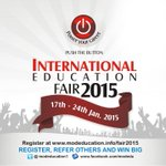 This Is What Youve All  Been Waiting For!!! #IEF2015 - A GOLDEN OPPORTUNITY TO STUDY ABROAD... http://t.co/MuMxYBJD9R