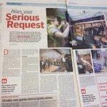 Stan & Taco jullie staan met een groot artikel in het AD én in het Leidsch Dagblad met t @AGlazenhuis #alphen #SR14 http://t.co/iwoP2lWD4O