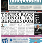 Exclusive: Conservatives back council tax referendum in #Brighton + #Hove: http://t.co/hdB7mVTtK9. In @BrightonIndy. http://t.co/6vR6fXFFiC