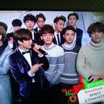 [CAP] 141219 EXO at Music Bank backstage interview cr.plumalyssum -B- http://t.co/wQh5hVXMEF
