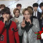 INFINITE & Toheart & EXOs Backstage Interview on Music Bank Special (1/6) http://t.co/LDFmNqgdVb