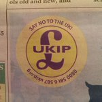In a surprise Christmas message, Rotherham UKIP have come out against the UK. http://t.co/YLwPJq5bom