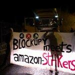 #Blockupy goes Arbeitskampf: Blockupistas unterstützten die Streikenden bei #Amazon! Solidarität an alle Standorte! http://t.co/ZMor9M9JsW
