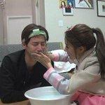 """Newlywed Bride #KimSoEun Wears a Hanbok for #SongJaeRim on """"#WeGotMarried"""" http://t.co/wzykmutWwK http://t.co/HXhjs4kV4a"""