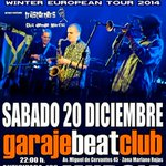 mañana 20/12 New York Ska-Jazz Ensemble @ #MURCIA @garajebeatclub 22:00 +info: http://t.co/N1AACttnI1 #NYSJE http://t.co/Oe4w53EdYU